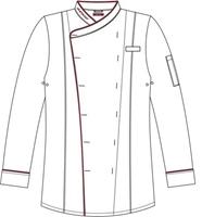 Vapiano men cooking jacket,  white